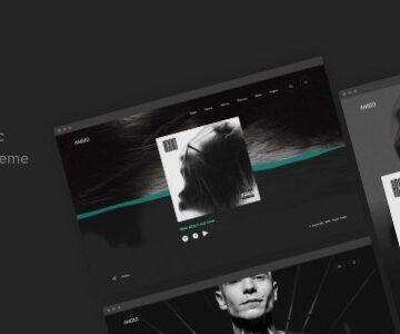 ANGIO V1.0.0 - CREATIVE MUSIC THEME