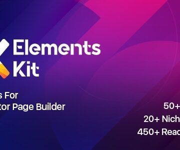ElementsKit v2.0.5 - The Ultimate Addons for Elementor Page Builder | Totally WordPress | Free WordPress Plugin Download