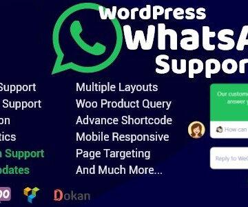 WordPress WhatsApp Support v2.0.6   Totally WordPress   Free WordPress Plugin Download