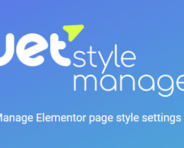 JetStyleManager v1.2.0 - Manage Elementor Page Style Settings | Totally WordPress | Free WordPress Plugin Download