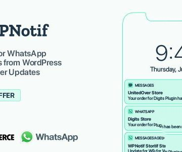 WPNotif v2.5.0.1 - WordPress SMS & WhatsApp Notifications   Totally WordPress   Free WordPress Plugin Download