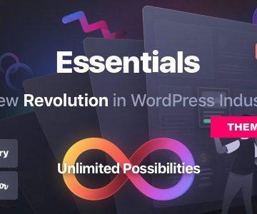 ESSENTIALS V2.0.6 - MULTIPURPOSE WORDPRESS THEME Totally WordPress Free WordPress Theme Download