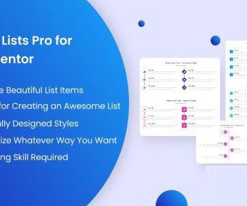 Item Lists Pro for Elementor v1.0   Totally WordPress   Free WordPress Plugin Download